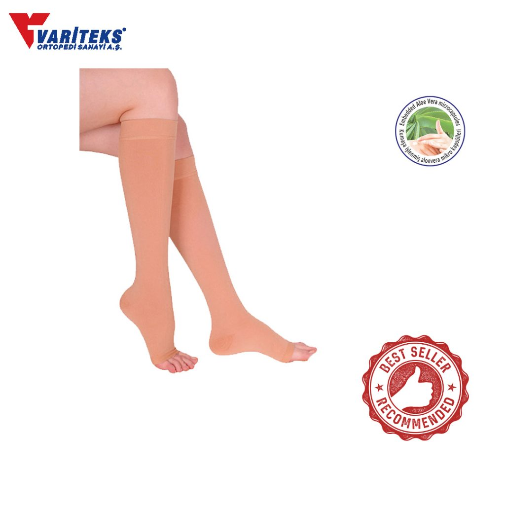 Variteks VAR.912 – Stocking Varises Knee High Open Toe ( Ccl 2 )