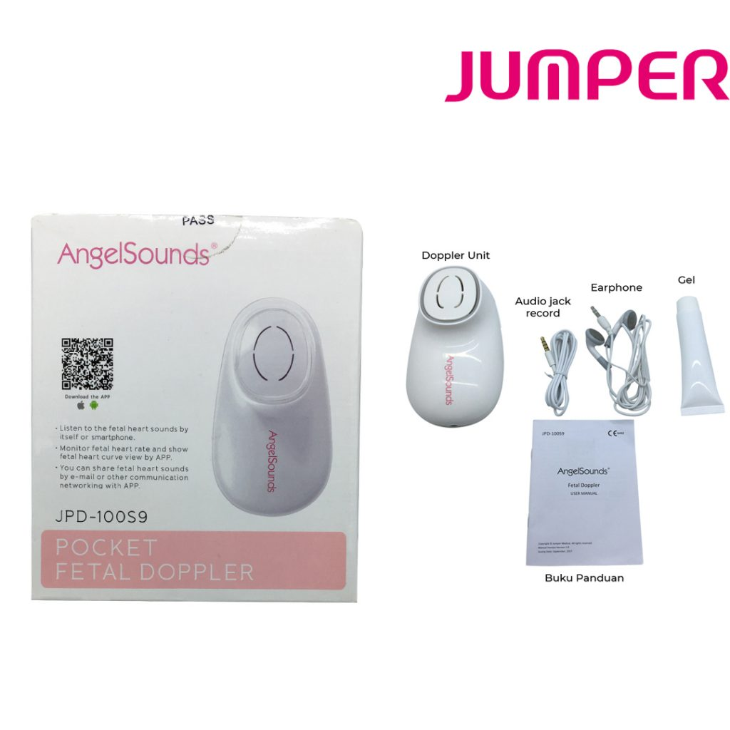 Jumper 100S9 – Angel Sound Doppler ( Alat bantu dengar detak jantung janin)