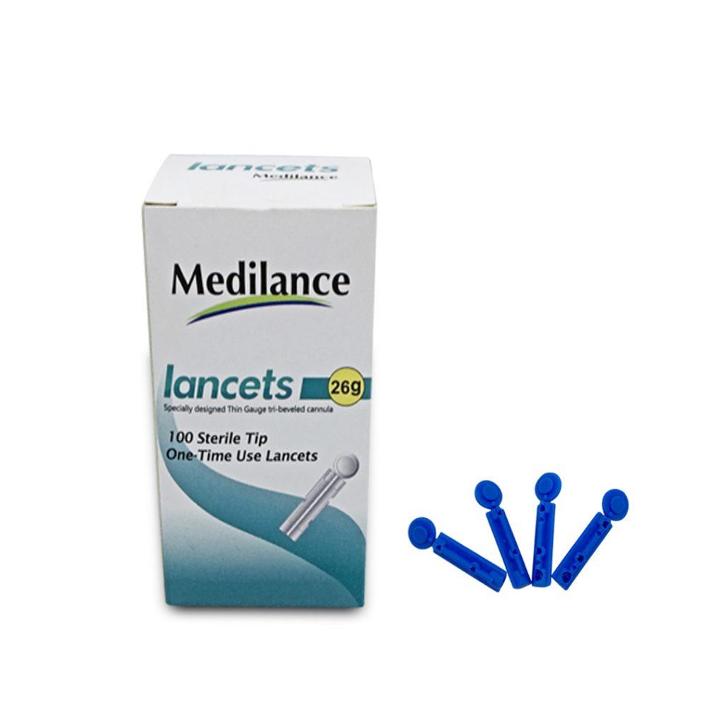 Medilance SCL 26G – Jarum Sekali Pakai ( 26G )