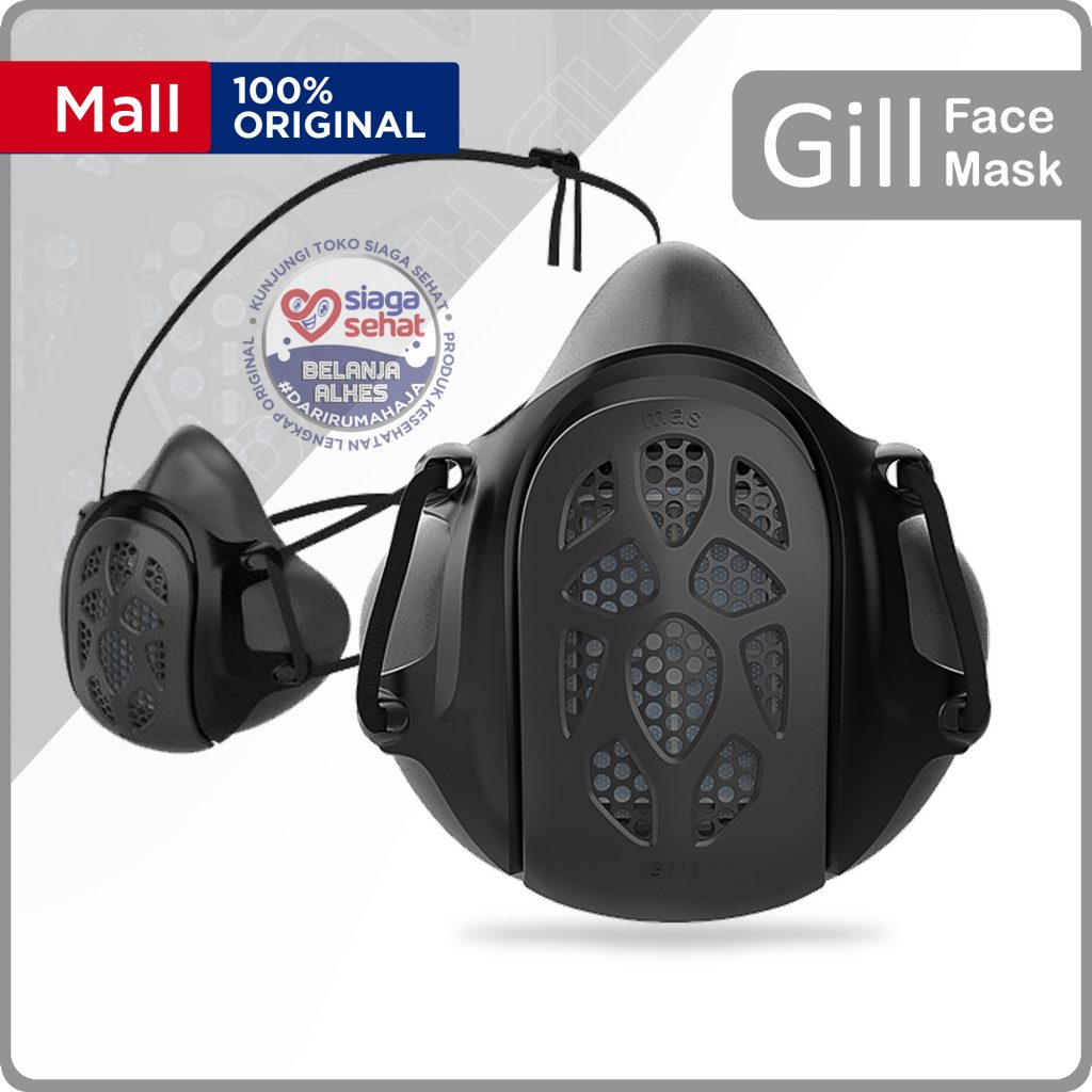 Gill Mask Black Edition