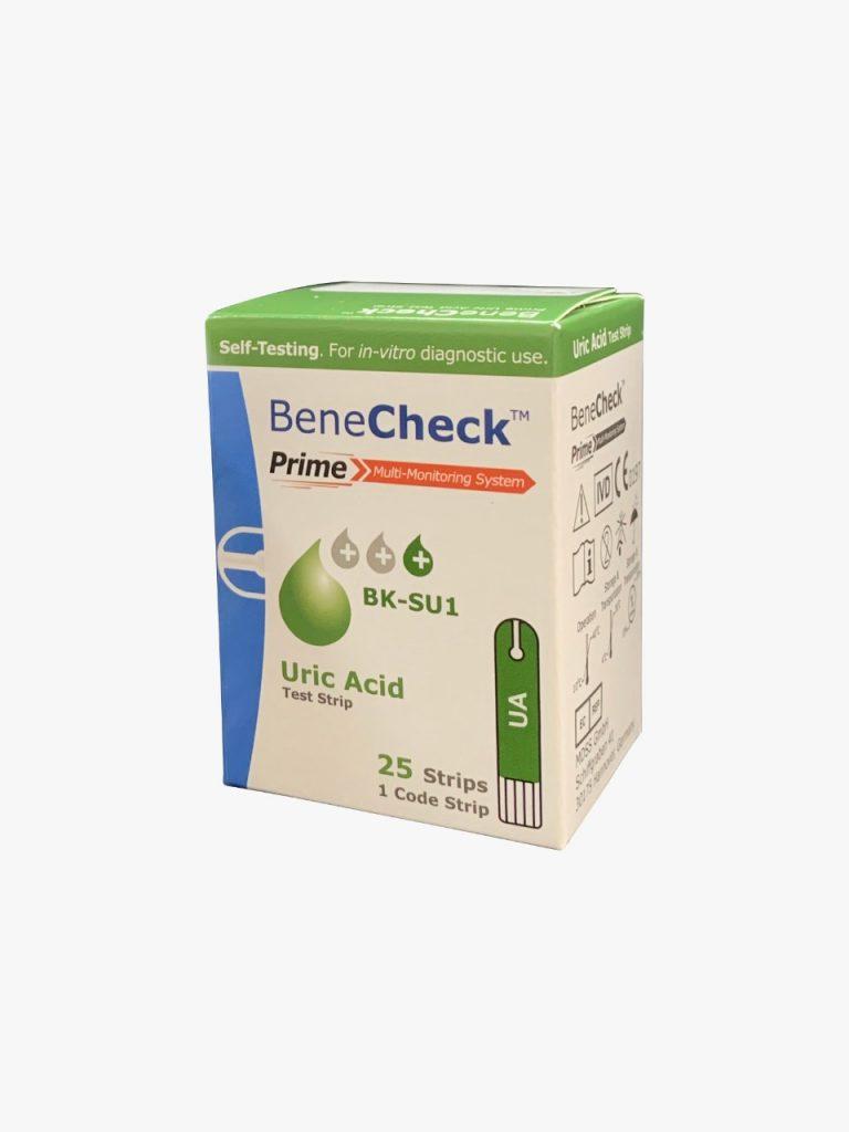 Benecheck PRIME Test Strip Asam Urat (ISI 25Pcs)