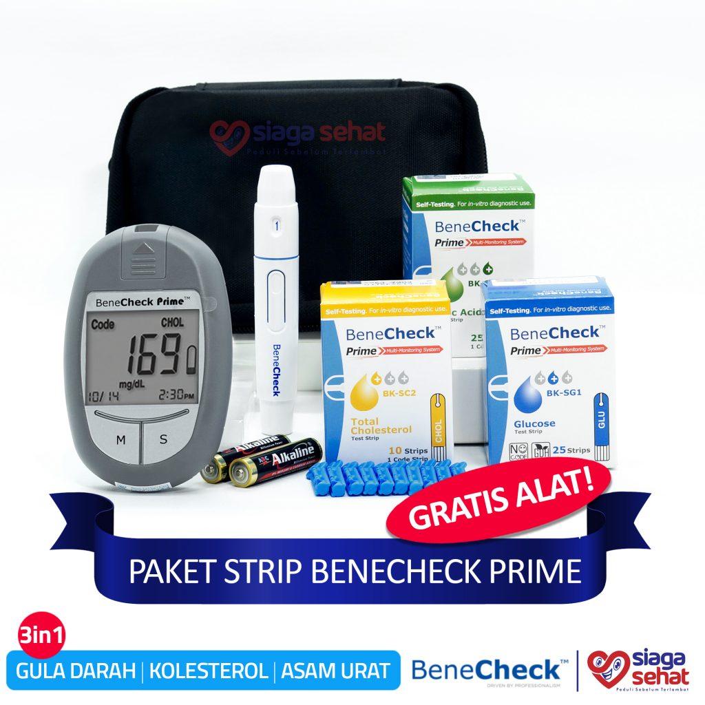 Paket Strip Benecheck Prime Gratis Alat