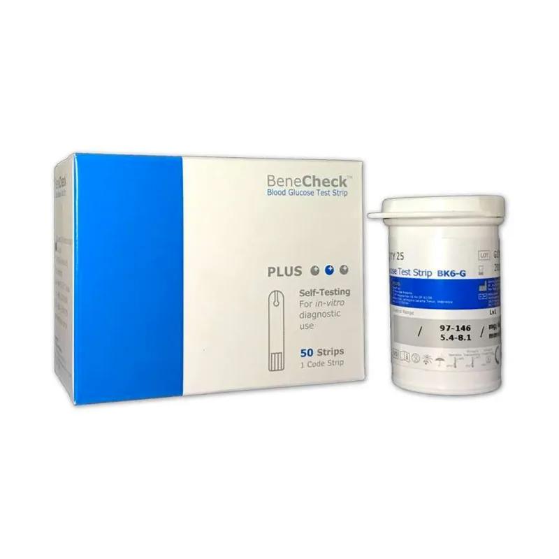 Benecheck PLUS Test Strip Gula Darah (Glukosa) (G50)