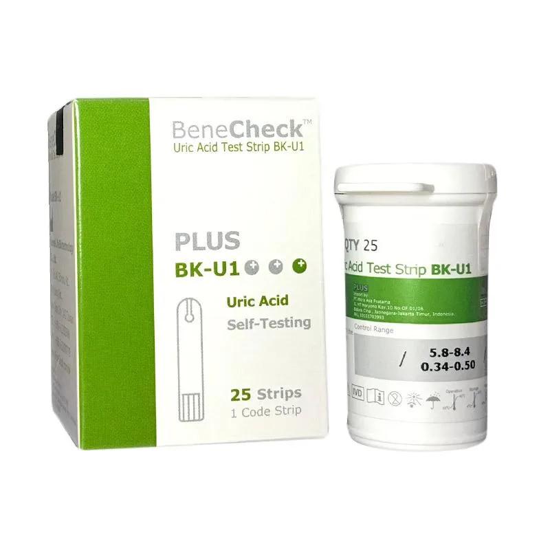 BeneCheck PLUS Test Strip Asam Urat (ISI 25Pcs)